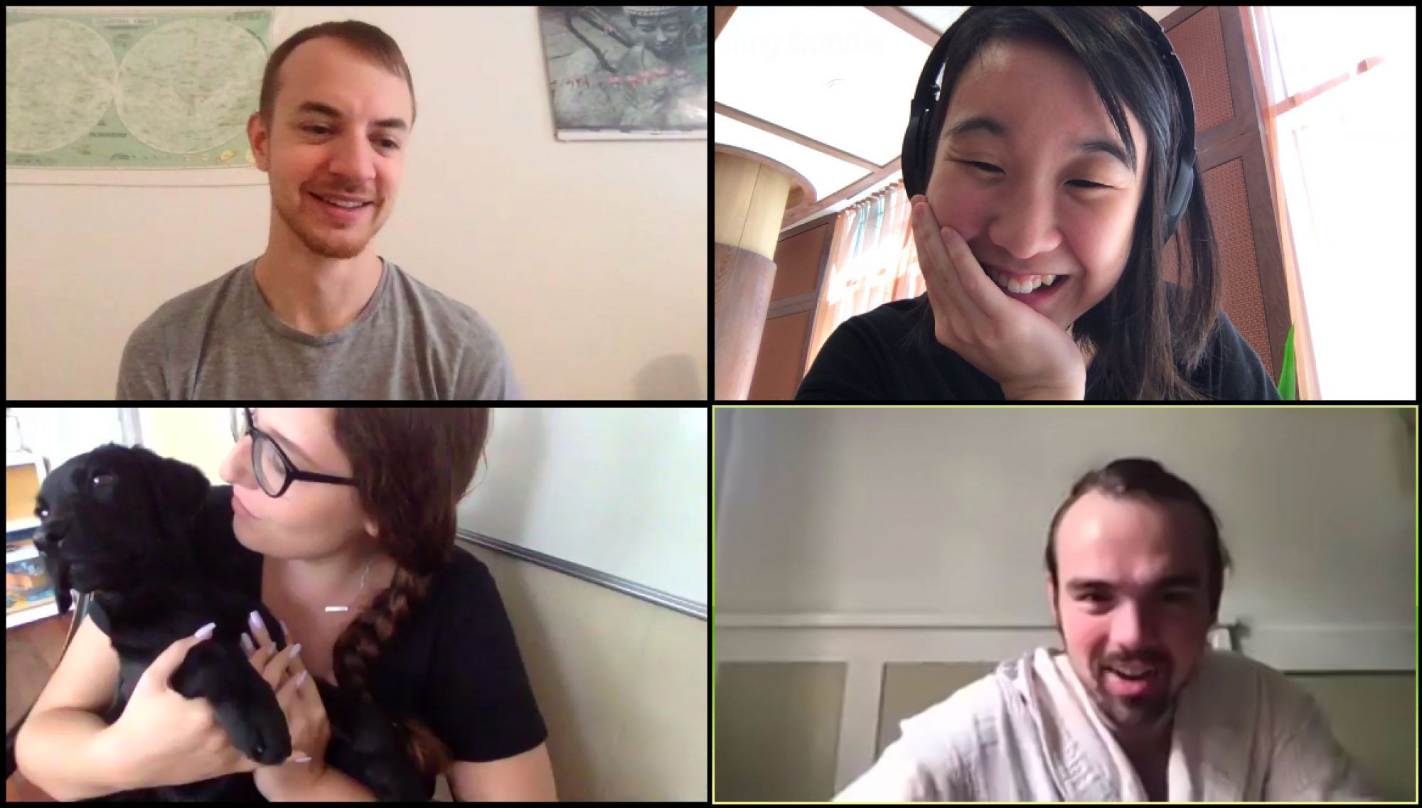 Canny team meeting via Zoom