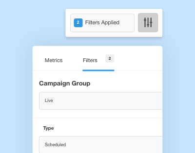 Campaign Group Filters
