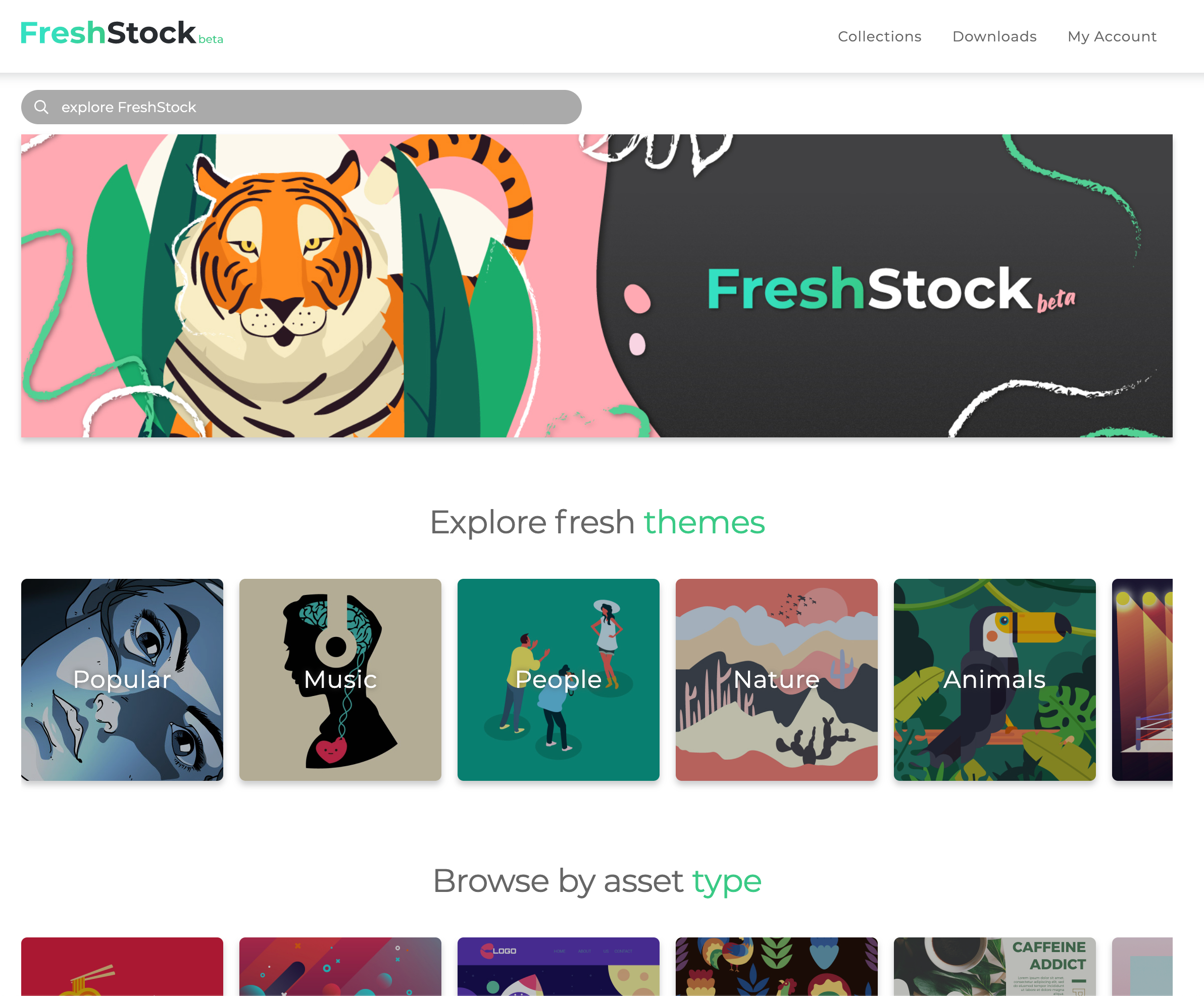 Fresh Stock Home Page