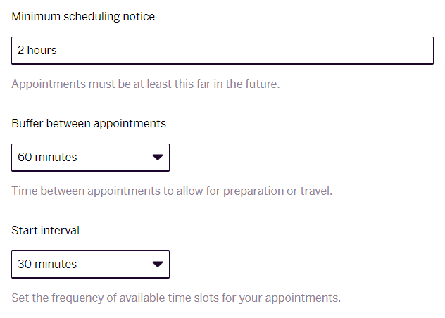 Appointments - rules