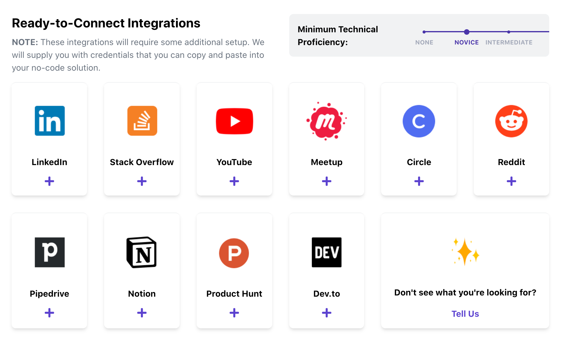 Ready-to-Connect Integrations