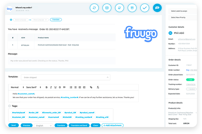 Fruugo_Integration