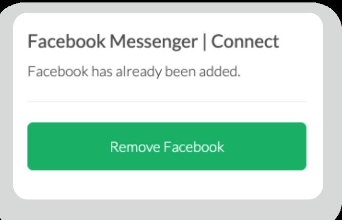 Facebook Messenger remove