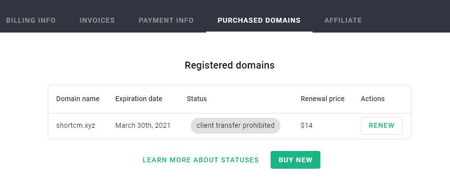 Purchased-domains-Short-io