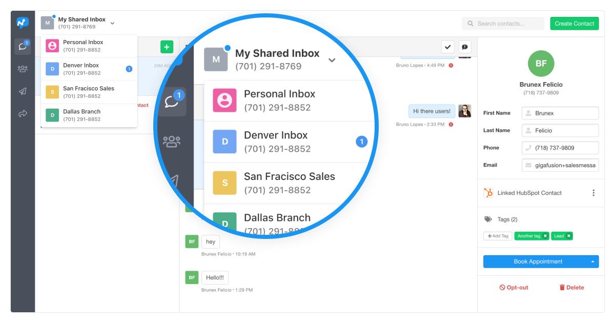 Inbox Message Notifications