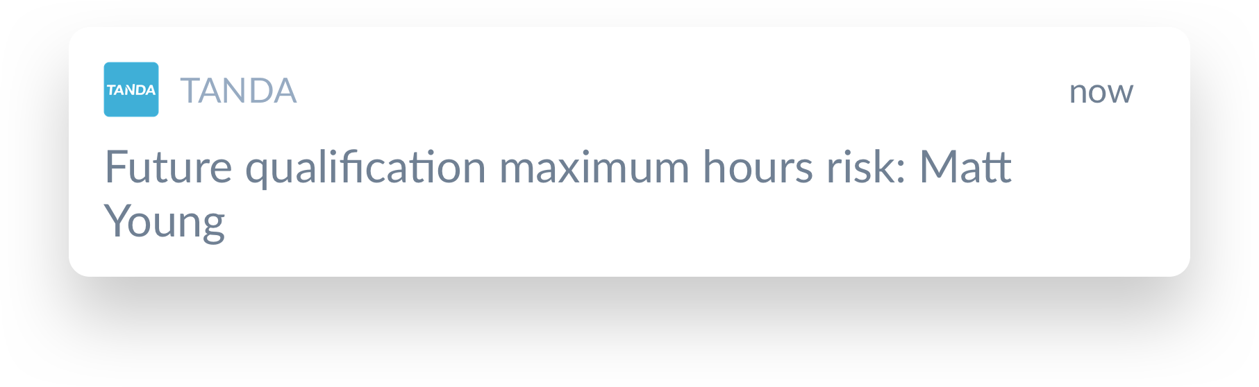 key alert max qualification hours