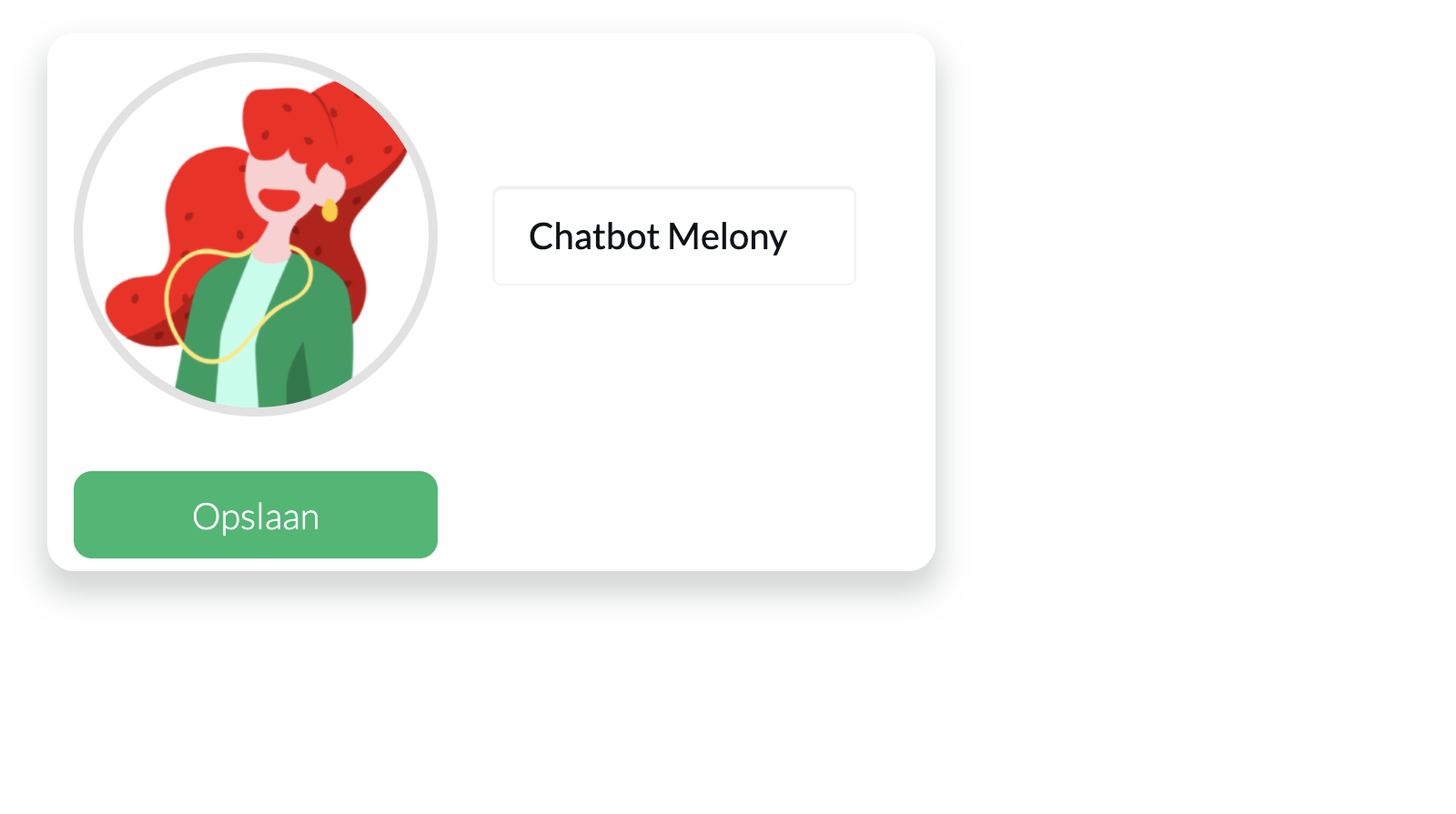 Chatbot profile picture