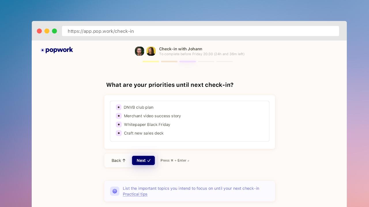 Thumbmail new check-in